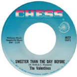 THE VALENTINOS/THE DELLS-SWEETER THAN THE DAY BEFORE/RUN FOR COVER- SOUL/FUNK